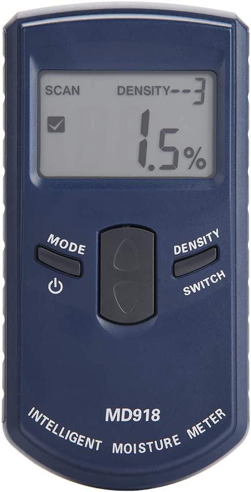 Holzfeuchtemessgerät Feuchtigkeit Messgerät Holzfeuchte Tester 4/% ~ 80/% RH