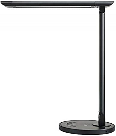 Taotronics Led Desk Lamp Eye Caring Table Lamps Dimmable Office Lamp With Usb Charging Port 5 Lighting Modes With 7 Brightness Levels Touch Control Black 12w Amazon Co Uk Lighting