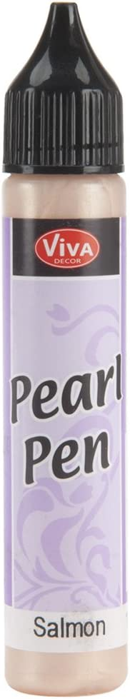 Viva Decor 25ml Pearl Pen, Salmon
