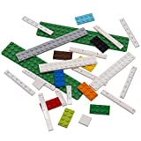 """Lego Stationery - Buildable Ruler - 12"""" (30cm) Ruler with Building Bricks"""