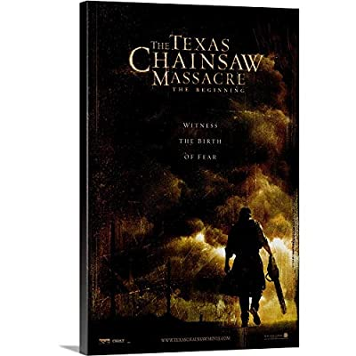 Premium Thick-Wrap Canvas Wall Art Print Entitled The Texas Chainsaw Massacre: The Beginning (2006)