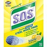 Clorox/Home Cleaning 98034 Lemon S.O.S 10 Pads Each