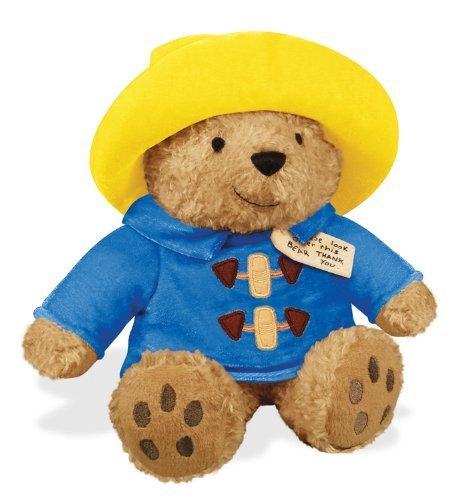 Paddington Paddington Bear stuffed toy 18cm yellow hat bear bear animal doll toy movie character [parallel import goods] from YOTTOY