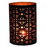 """Hosley's 6"""" High Geo Candle Holder, Jar Candle Holder/ Lantern. Ideal Gift for festivities, parties, weddings, aromatherapy and spa settings"""