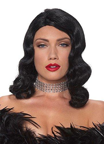 Fatale Femme Wig (Black) Adult