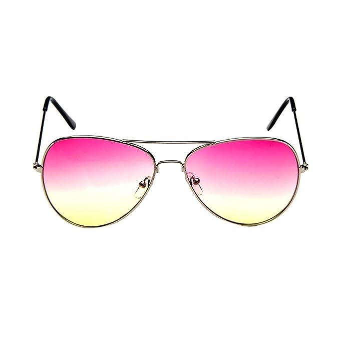 VJGOAL Unisex piloto de moda con lentes espejadas ...