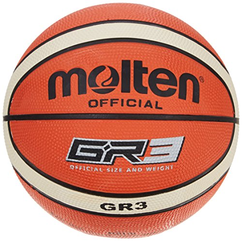 molten Basketball, Orange/Ivory, 3, BGR3-OI