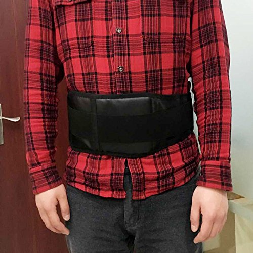 [Heat Waist Lumbar Support Belt Double Pull Breathable Functions Of Dehumidification Product Safety And Easy To Use, Durable] (Loggers And Joggers Costume)