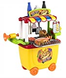 play go gourmet kitchen - Gourmet Hot Dog Cart Food Truck Play Set