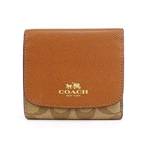 COACH Signature Small Wallet Clutch