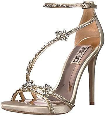 29007f1bcbf Amazon.com  Badgley Mischka Women s Hodge Heeled Sandal  Shoes