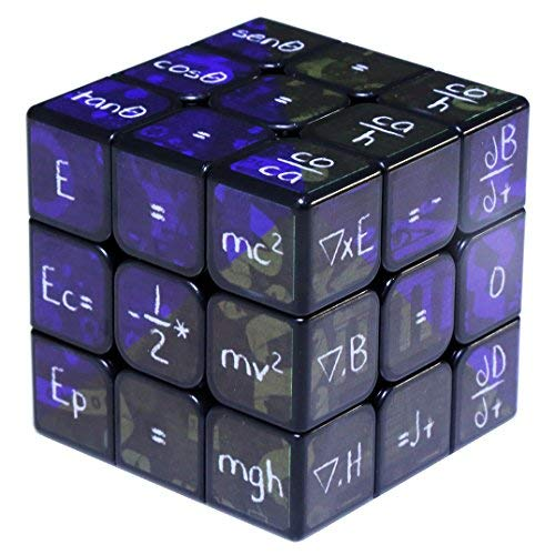 Rubik's 3X3 Cube, 3D Puzzle Game,Brain teasers puzzles, Magic Cube Math, Gift for Kids(Blue)