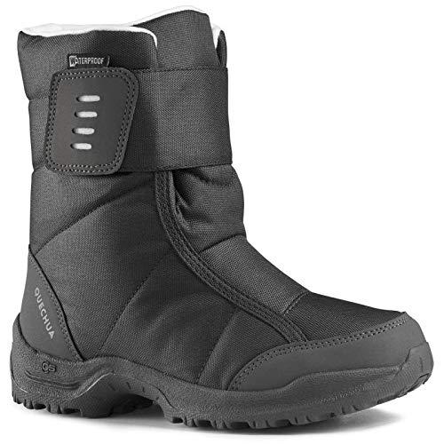 Hiking Snow Boots SH100 X-Warm - Black