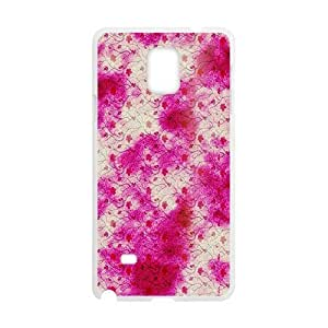 Attractive Pink Pattern White Phone Case for Diy For Iphone 5/5s Case Cover