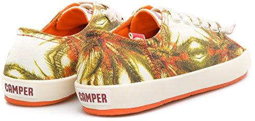 Camper Donna Peu Rambla Vulcanizzata Moda Sneaker Paradiso Arancione