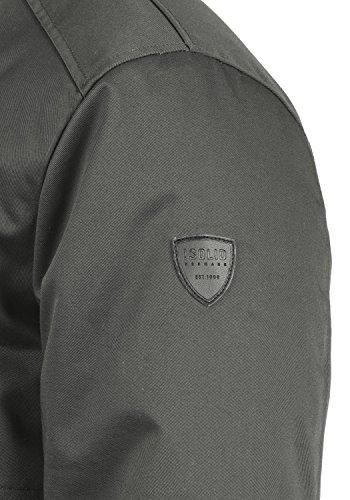 Grey Wallo 2890 Pour Avec solid Dark Veste Droit Col D'extérieur Homme Blouson D'hiver PwdXq7