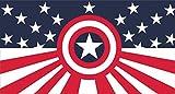 Avengers Flag | Captain America Stars and Stripes | 3×5 Ft / 90×150 cm | Long Lasting Flag Review