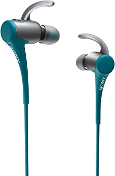 Amazon Com Sony Mdras800bt Active Sports Bluetooth Headset Blue Home Audio Theater