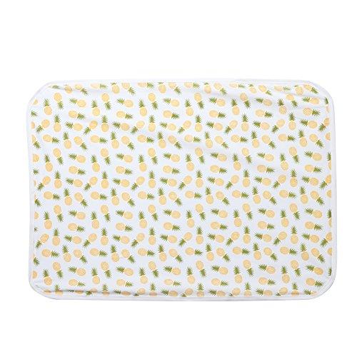 Diamondo 2pcs Baby Infant Swaddle Wrap Blanket Pineapple Print Sleeping Bag Headband by Diamondo (Image #6)