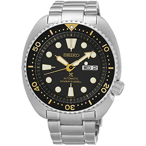 Seiko Men's Analogue Automatic Watch with Stainless Steel Bracelet - SRP775K1 from SEIKO