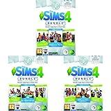 The Sims 4 Game & Stuff Pack 3: Mangiamo Fuori, Serata Cinema, Giardini Romantici + The Sims 4 Game & Stuff Pack 2: Un giorno alla SPA, Esterni da sogno, Feste di lusso  + The Sims 4 Game & Stuff Pack 1: Gita all'aria aperta, Cucina perfetta, Accessori da brivido - PC