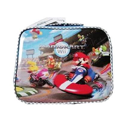 aa0880dd Amazon.com: Super Mario MarioKart Wii Lenticular 3D Insulated Lunchbox  Lunch Kit Bag: Lunch Boxes For Kids: Kitchen & Dining