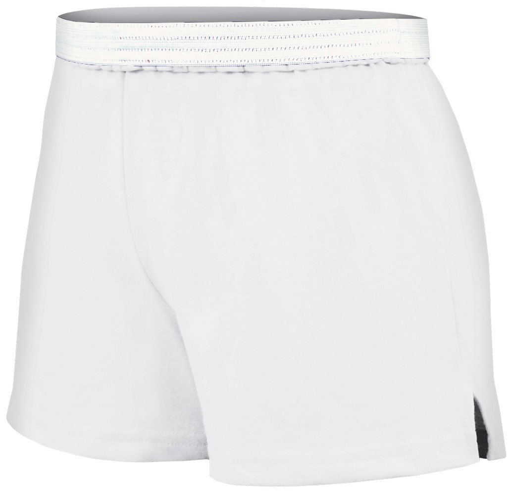 Soffe Juniors Athletic Short, White, Small