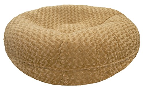BESSIE AND BARNIE Signature Camel Rose Extra Plush Faux Fur Bagel Pet/Dog Bed (Multiple Sizes) Review