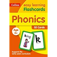 Phonics Flashcards (Collins Easy Learning Preschool)