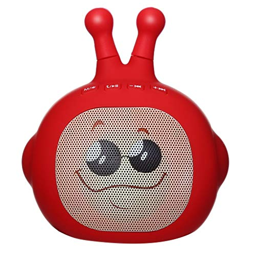 (Redvive Top AITISIN Supersonic Expression Man PortableSpeaker +Bluetooth +USB/TF/LED)