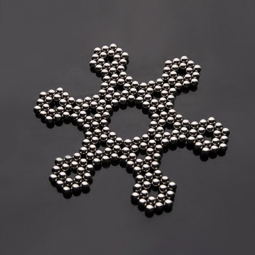Magnetic Ball, Magnetic Sculpture Toys for Intelligence Development and Stress Relief (5MM 216 Magnetic Balls)