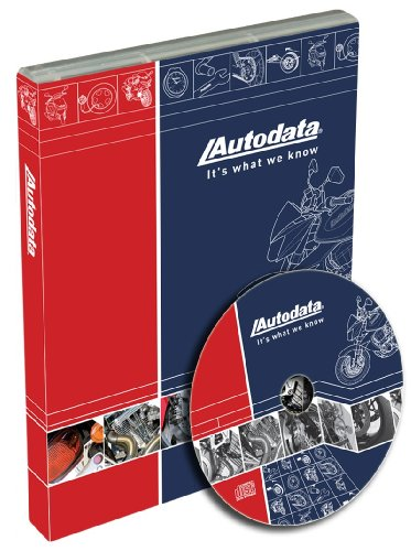 Autodata 14-CDA140 Motorcycle Technical Data and Labor (Motorcycle Labor Guide)