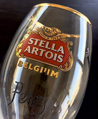 Stella Artois Chalice Engraving, STELLA CHALICE 40CL, chalice engraving, stella artois engraved, engraved beer glasses, Personalized Chalice Hand Engraved Free hand by Akoko Art Handengraved Crystal Glass (Image #7)