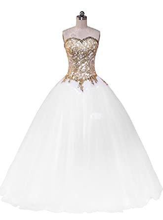 Beauty-Emily Prom Dresses Womens Sleeveless Long White Lace Dresses Plus Size Wedding Gown Dresses