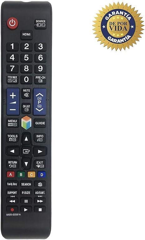 MYHGRC Reemplazo del Control Remoto Samsung AA59-00581A Control ...