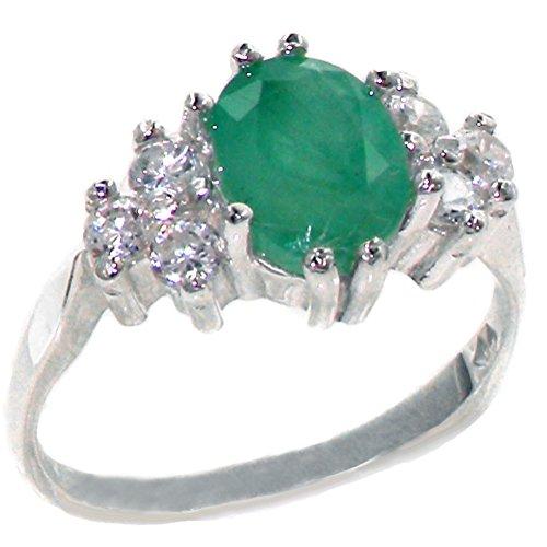 Diamond & Emerald Antique Ring - 3
