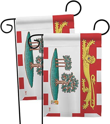- Americana Home & Garden GP140941-BOAE Prince Edward Island Flags of The World Canada Provinces Impressions Decorative Vertical 13