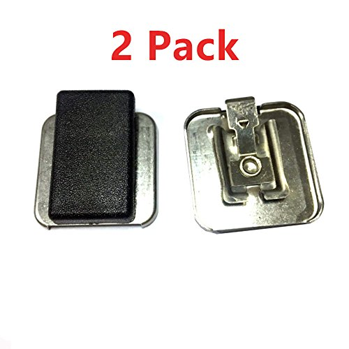 (2 X Belt Clip For Motorola Replacement Microphone Clip PMMN4013A 4021 4022 4013 4051 4025 Handheld Speaker Microphone MIC Two Way Radio Accessory (2 Packs))