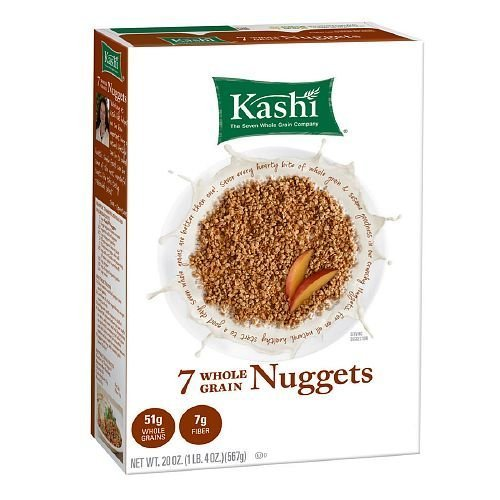 Kashi 7 Whole Grain Cereal Nuggets 20 oz PACK OF 2 ()