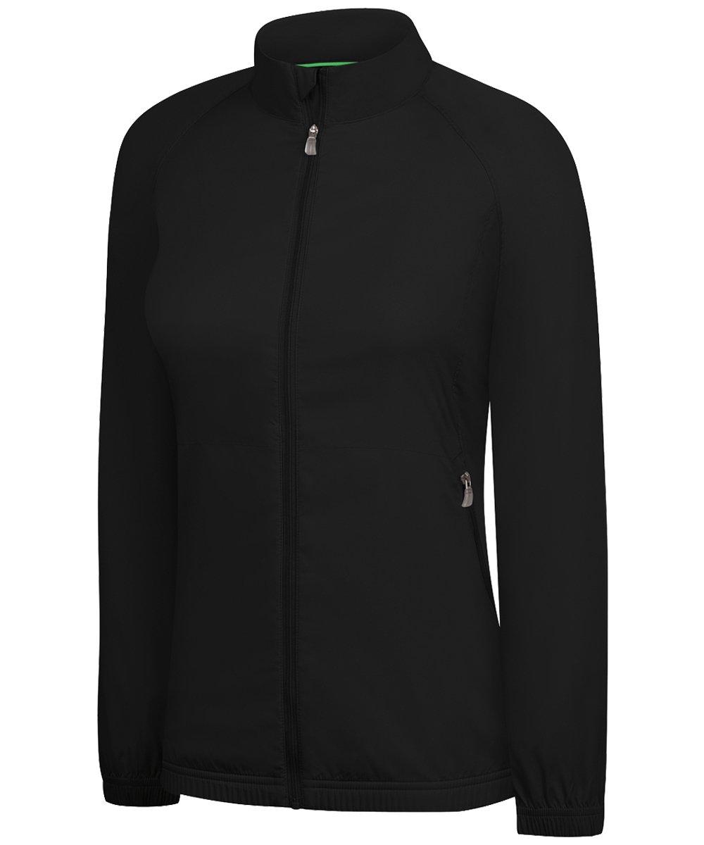 adidas Women's ClimaProof Wind Full-zip Jacket '12 - Black - X-Large