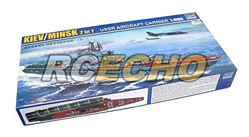 RCECHO® TRUMPETER Military Model 1 550 War Ship KIEV MINSK 2in1 USSR Carrier 05207 P5207 174; Full Version Apps Edition