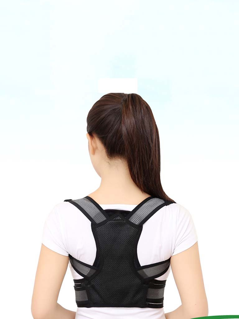 gaihu大人用メンズレディース、学生子供Kyphosis補正with Back Invisible補正anti-humpback Corrector B07CTT4ZYF X-Small