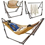 UBRTools 3in1 Portable Folding Hammock with Stand For Outdoor Camping Hiking Hanger Use