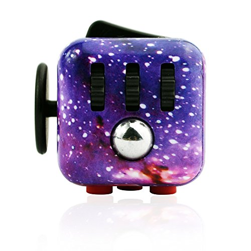 KCHKUI Fidget Cube Relieves Stress And Anxiety for Children and Adults Anxiety Attention Toy -
