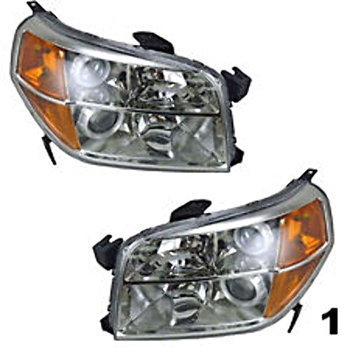 ot Left & Right Headlamp Assemblies (pair) (Right Headlamp Assembly)