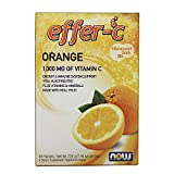 NOW Effer-C Orange,30 Packets