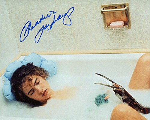Heather Langenkamp Signed / Autographed A Nightmare on Elm Street 8x10 Glossy Photo as Nancy Thompson Includes Fanexpo Fanexpo Certificate of Authenticity and Proof. Entertainment Autograph Original. from Star League Sports
