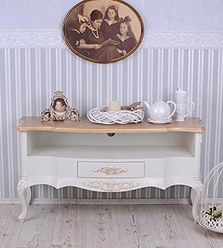 Tv Regal Sideboard Landhausstil Wohnzimmer Fernsehschrank Weiss
