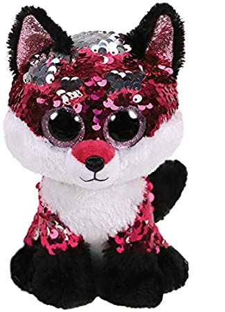 66196a6d270 Ty Flippables Jewel the Fox Sequin Soft Toy  Amazon.co.uk  Toys   Games