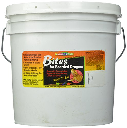 Nature Zone SNZ54623 Bearded Dragon Bites Soft Moist Food, 1-Gallon by Nature Zone (Image #3)